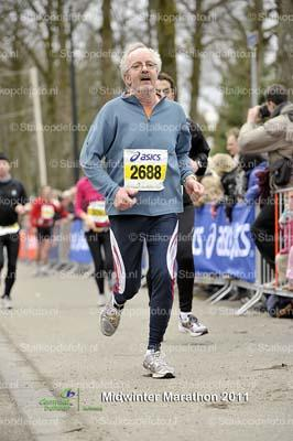 Midwinterrun Apeldoorn 2011 27,5 km