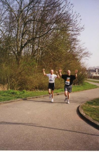 Roadair run met Jeroen