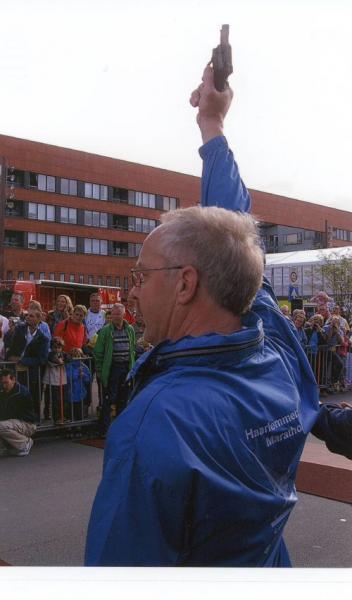 Startschot bij Haarlemmermeer Marathon
